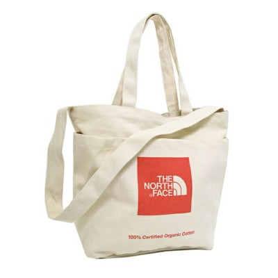THE NORTH FACE UTILITY TOTE NATURAL/TNF RED【NM81764-TR-NATURAL】