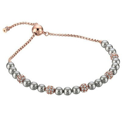 マイケルマイケルコース ブレスレット Michael Michael Kors MKJ6294Rose Gold-Tone Glass Pearl Slider Bracelet (Rose...