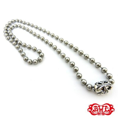 【BWL】Bill Wall Leather ビルウォールレザー【送料無料】【あす楽】/STAINLESS BALL CHAIN 6mm/24inch w/SILVER BASKET...