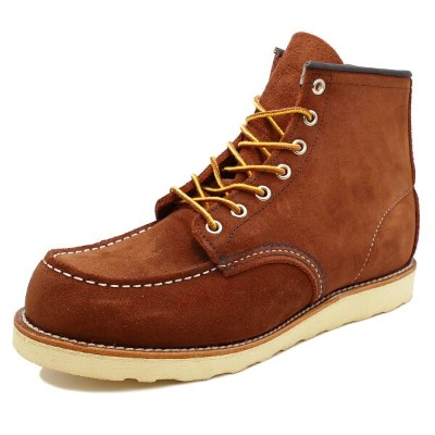 """RED WING 8810 Classic Work 6"""" Moc-toeレッドウイング 8810 クラシックワーク 6インチ モックトゥCopper Abilene Roughout カッパー..."""