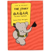 Olympia Le-Tan The Story Of Babar ブック クラッチバッグ - オレンジ