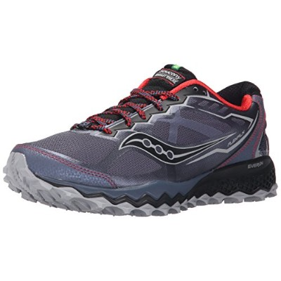 Saucony Peregrine 6 [S20302-1] Trail Running Grey/Red-Black-080