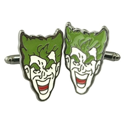 OutlanderギアDC Comics Jokerスーパーヒーロー2018ムービーMens Boys Cufflinks