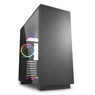 Sharkoon PURESTEELRGB PCケース PURE STEEL RGB ブラック【smtb-s】