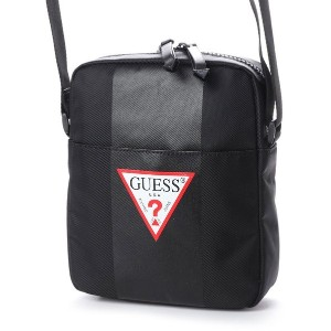【SALE 35%OFF】ゲス GUESS CENTRAL MINI CROSSBODY (BLACK) メンズ