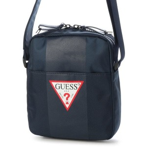 【SALE 30%OFF】ゲス GUESS CENTRAL MINI CROSSBODY (NAVY) メンズ