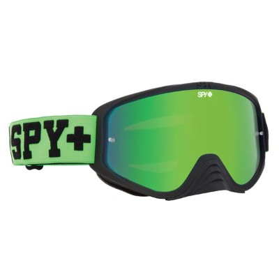 SPY スパイ WOOT RACE JERSEY GREEN - SMOKE W/ GREEN SPECTRA + CLEAR AFP /ゴーグル モトクロス バイク スノーボード スキー スノボ...