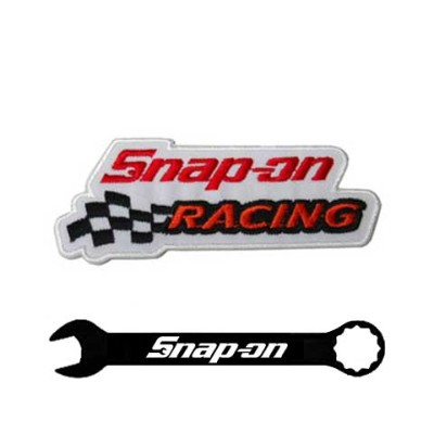 Snap-on(スナップオン)ワッペン「RACING LOGO PATCH」