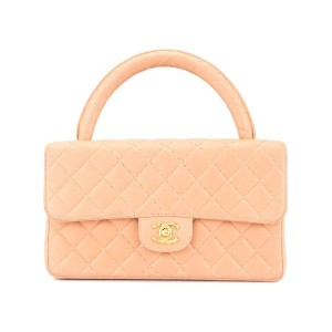 Chanel Pre-Owned ココマーク ハンドバッグ - ピンク