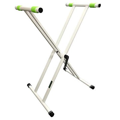 Gravity グラビティ X型キーボードスタンド Keyboard Stand X-Form double White GKSX2W