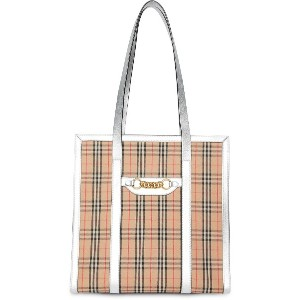 Burberry チェーンリンク トートバッグ S - ニュートラル