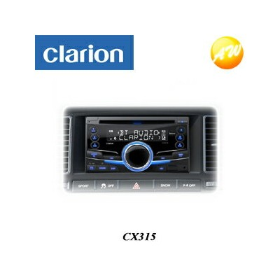 CX315 clarion クラリオン 2DIN Bluetooth/CD/USB/MP3/WMAレシーバー【コンビニ受取対応商品】