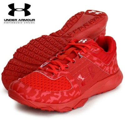 UA Yard Trainer Wide JP【UNDER ARMOUR】アンダーアーマー 野球トレーニングシューズ19SS(3022134-RED/RED)*00