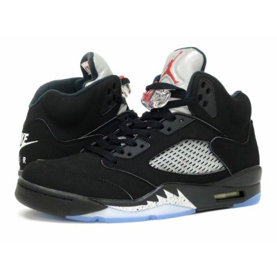 NIKE AIR JORDAN 5 RETRO OG ナイキ エア ジョーダン 5 レトロ OG BLACK/FIRE RED/METALLIC SILVER 845035-003