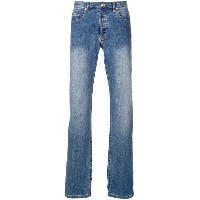 A.P.C. faded slim bootcut jeans - ブルー