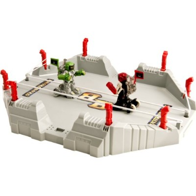Tomy トミー バトロボーグ バトルアリーナ グリーン・レッド Battroborg 3-in-1 Battle Arena, Green and Red