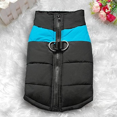 Gyvoxz - Waterproof Pet Dog Puppy Vest Jacket Chihuahua Clothing Warm Winter Dog Clothes Coat For...