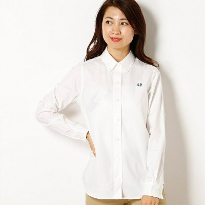【18AW】『雑誌CLUEL 10月号掲載商品』OXFORD SHIRT/フレッドペリー(レディス)(FRED PERRY)