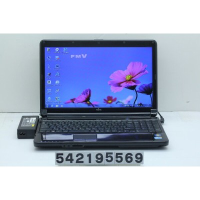 富士通 LIFEBOOK AH530/3B Core i3 M370 2.4GHz/4GB/640GB/Multi/15.6W/FWXGA(1366x768)/Win7【中古】【20190214】