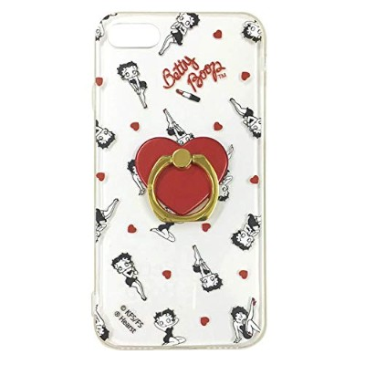 Betty CLEAR JACKET & RING iPhone7/8 (BT-HEART)