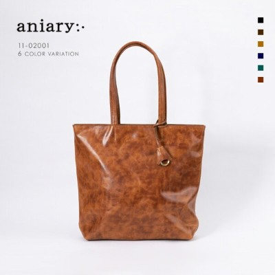 【aniary|アニアリ】Ideal Leather アイディアルレザー 牛革 Tote トートバッグ 11-02001 [送料無料]