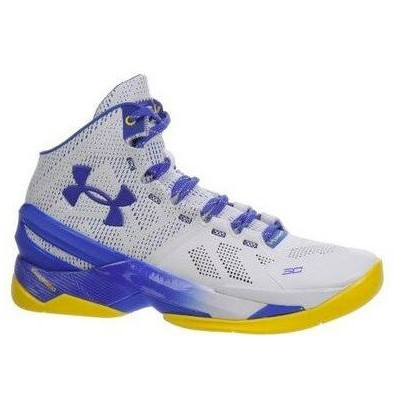 """Under Armour Curry 2 """"DUB NATION HOME""""メンズ White/Team Royal アンダーアーマー Stephen Curry ステフィンカリー バッシュ"""