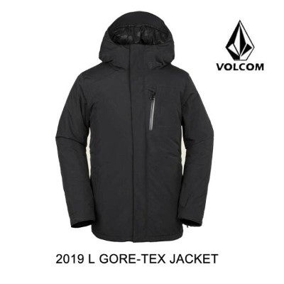 2019 VOLCOM ボルコム ジャケット L GORE-TEX JACKET BLACK