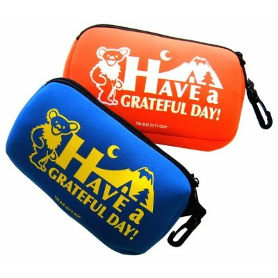 【 GD HAVE A GRATEFUL DAY BAG 】デイバッグ ポーチ 全2色 / 小物入れ サングラス ホルダー IRON GLOVES POUCH