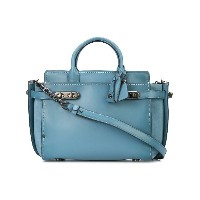Coach Double Swagger tote - ブルー