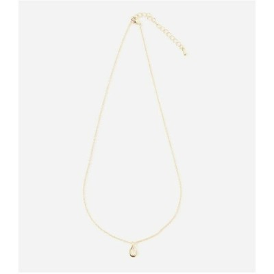 AZUL by moussy T/C TEAR NECKLACE アズールバイマウジー アクセサリー