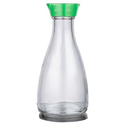 Soy Sauce Bottle & Dispenser with multi function uses (Green Cap)