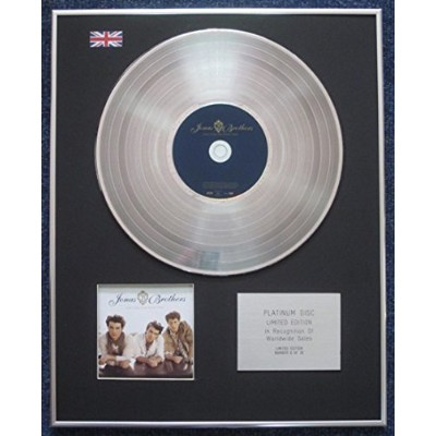 Jonas Brothers - Limited Edition CD Platinum LP Disc - Lines, Vines and Trying Times