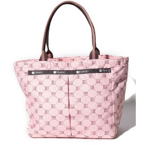 LeSportsac SMALL EVERYGIRL TOTE/レモノグラムローズ