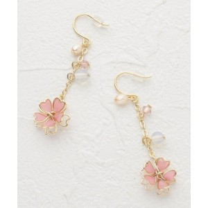 【ITS' DEMO(イッツデモ)】 桜ピアス OUTLET > ITS' DEMO > アクセサリー > ピアス ピンク