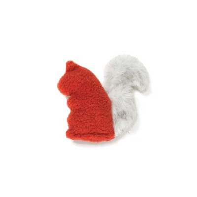 West Paw Dog Toy Sequoia Squirrel Color: Rust