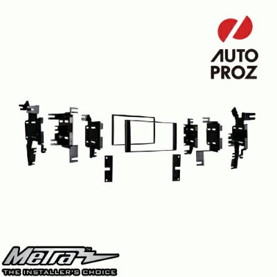 [METRA 正規品] 日産 2007年以降現行 ダブルDIN オーディオ取り付けキット/ダッシュキット