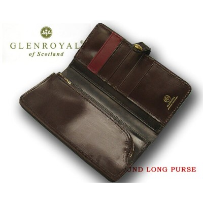 グレンロイヤル / GLENROYAL ■ROUND LONG PURSE 03-6178 ●013 ( NEW BLACK×CIGAR×BORDEAUX ) [ 完全限定入荷商品 ]...