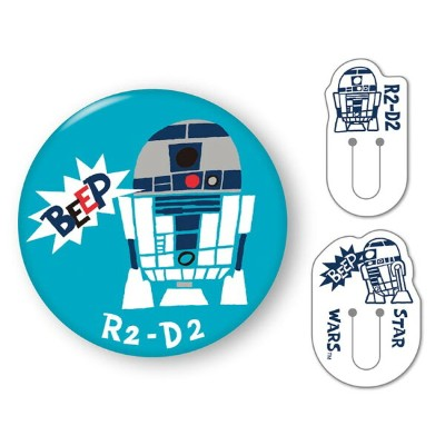 BEV-CL-019 スターウォーズ くりっぷかん SW R2-D2