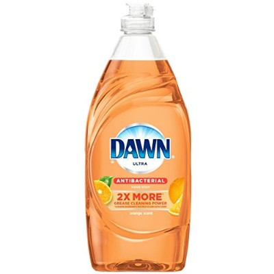Dawn Ultra Antibacterial Hand Soap Orange Scent Dishwashing Liquid, 21.6 Fl Oz by Dawn