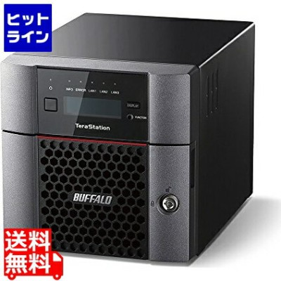 バッファロー ( BUFFALO ) TeraStation TS5210DFシリーズ 2ベイ SSD 512GB TS5210DF00502