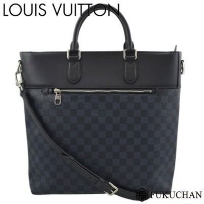 【LOUIS VUITTON/ルイ・ヴィトン】 ダミエ・コバルト ニューポート・トート N41588 【中古】≪送料無料≫