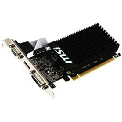 MSI エムエスアイ グラフィックボード NVIDIA GeForce GT 710搭載 PCI-Express MSI GT 710 2GD3H LP[2GB/GeForce GTシリーズ]...