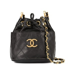 Chanel Pre-Owned Cosmos Line ショルダーバッグ - ブラック