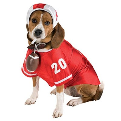 Rubie's Football Star Pet Costume, Small by Rubie's Costume Co
