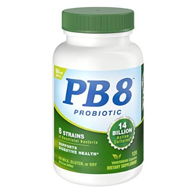 Nutrition Now PB 8 Pro-Biotic Vegetarian Supplement, 120 Count by Nutrition Now