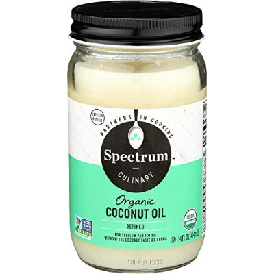 Spectrum Naturals - Organic Coconut Oil - 14 fl oz (414 ml) オーガニック・ココナッツオイル