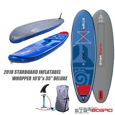"""2018 STARBOARD INFLATABEL WHOPPER 10'0""""x35"""" DELUXEスターボード ワッパー 10'0""""x35"""" デラックスサーフ SUP インフレータブル SUP..."""