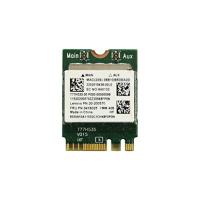 Lenovo純正 20200570 04X6025 RTL8723BE 802.11b/g/n WLAN + Bluetooth 4.0 M.2 無線LANカード for Lenovo G40...
