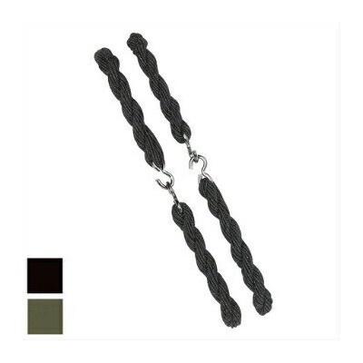 MILITARY(ミリタリー)スソゴム [ブーツブラウザ][HOOK-ON GARTERS][Black][Olive Drab]