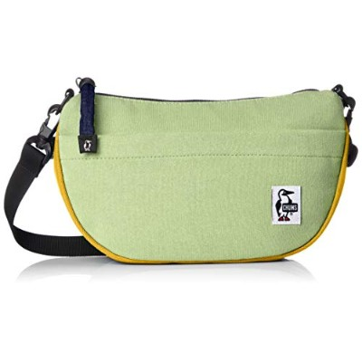 [チャムス] ショルダーバッグ Mini Banana Shoulder Sweat Nylon H.Jade/Yellow